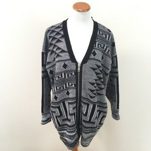 NWT UO Silence + Noise Knit Long Cardigan Sweater